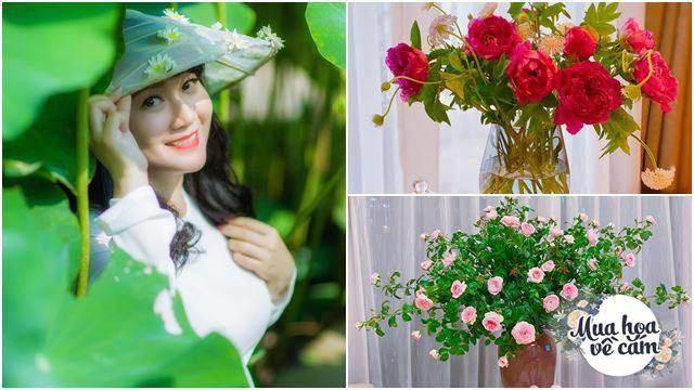 "Chi tiền triệu mua hoa về cắm, mẹ Hà Nội bị trêu: ""Tiền hoa tốn hơn tiền ăn"""
