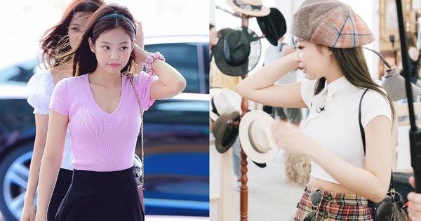 """Nhờ công của Jennie mà loạt hot trend những năm 90 """"sống lại"""", hội chị em ồ ạt diện theo, hàng """"copy"""" được sản xuất đại trà"""
