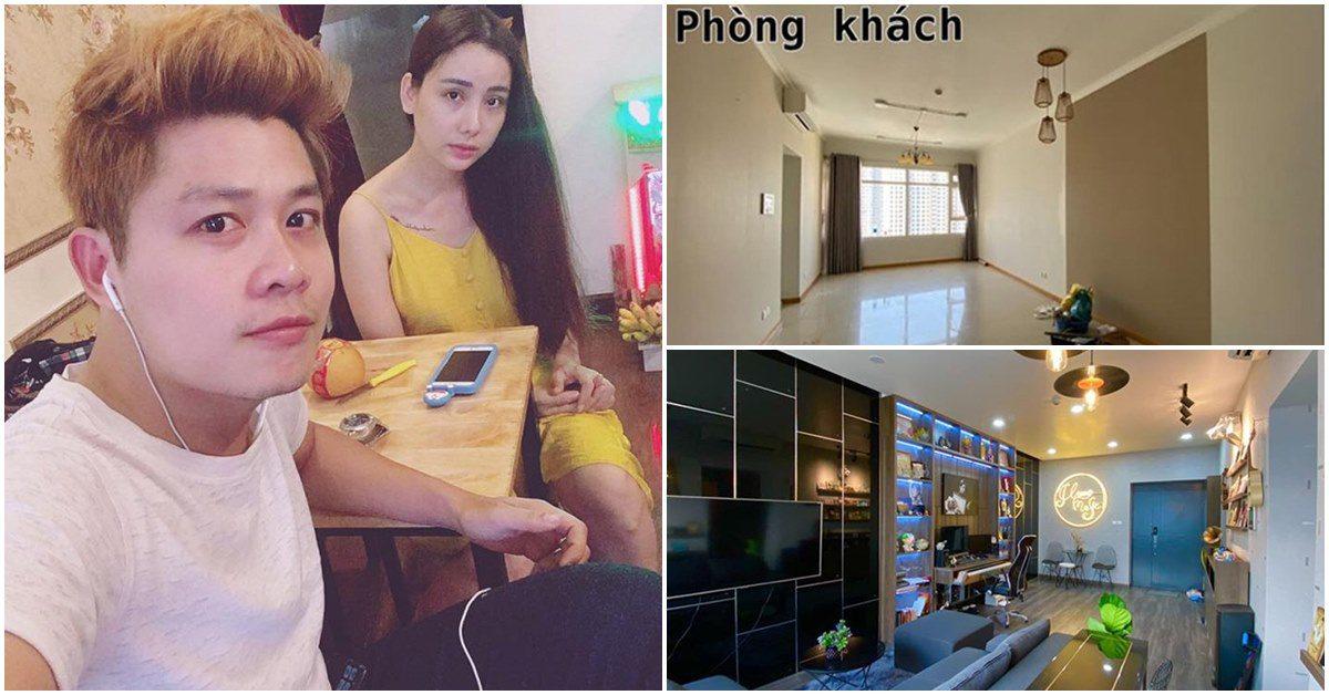 Nhạc sĩ Nguyễn Văn Chung cải tạo chung cư 90m2, nhìn thành quả mà bất ngờ