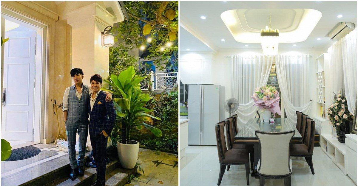 Ca sĩ Lương Gia Huy đến thăm biệt thự 20 tỉ của Quang Hà, bước vào mà bất ngờ!