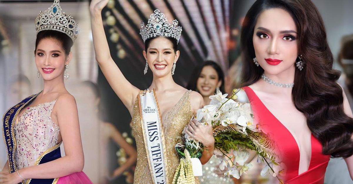 """Sắc vóc của Hoa hậu Chuyển giới Thái Lan từng là """"fan cứng"""" của Hương Giang"""