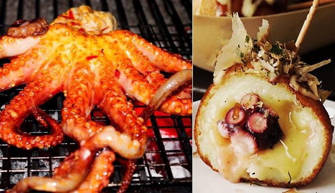 """""""Thèm nhỏ dãi"""" những món ăn bao đã biến tấu từ bạch tuộc"""