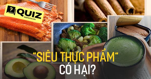 Quiz: 6 loại thực phẩm cực tốt cho sức khỏe nhưng bạn có đoán được nếu ăn nhiều thì chuyện gì sẽ xảy ra không?