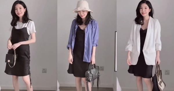 Chỉ 1 chiếc váy đen mà mặc được từ đi làm tới đi chơi, nàng công sở ra tay chứng minh với 11 set đồ bắt mắt