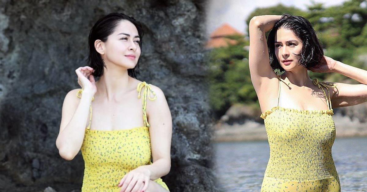 """Không còn """"thắt đáy lưng ong"""", """"người đàn bà đẹp nhất Philippines"""" giờ tròn trục"""