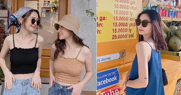 Nóng thế này sắm áo 2 dây là chuẩn nhất: 10 gợi ý từ lụa trơn đến sexy, bánh bèo xinh yêu giá chỉ từ 120k cho chị em tha hồ chọn