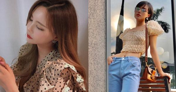 """Đồ chấm bi tưởng """"quê"""" mà lại đang được celeb Hàn - Việt mê tít, càng ngắm càng thấy xinh và muốn tậu ngay một em"""