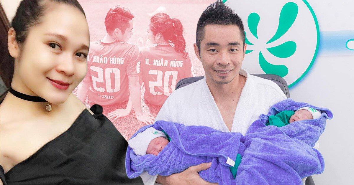 """9X tránh thai vẫn """"dính"""" bầu, 3 năm đẻ liền 4 con cho chàng hậu vệ Than Quảng Ninh"""