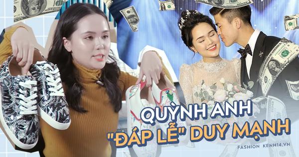 """Chuyện hàng hiệu nhà Duy Mạnh - Quỳnh Anh: Được chồng tặng nhiều hàng hiệu vô kể, công chúa béo """"đáp lễ"""" ra sao?"""
