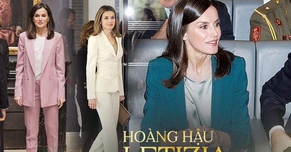 Học ngay 5 tuyệt chiêu diện suit từ nữ nhân mặc suit đẹp nhất giới Hoàng gia - Hoàng hậu Tây Ban Nha Letizia