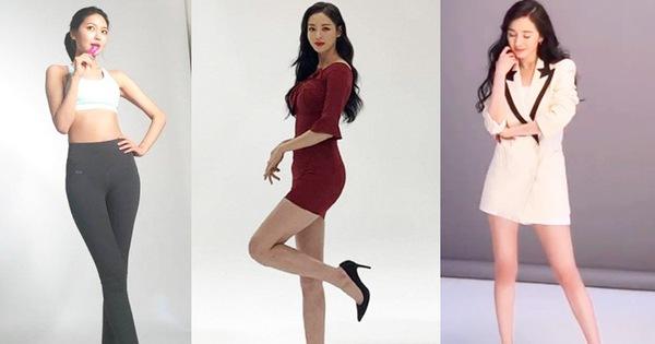 """Vẫn biết những sao nữ này chân dài """"cân"""" mọi outfit nhưng xem ảnh hậu trường vẫn phải sốc, hack não nhất là """"thánh body"""" Lee Da Hee"""