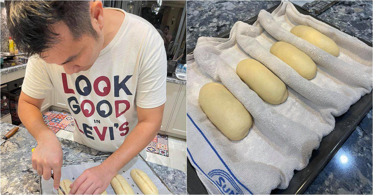 """Chồng thành đạt của Vân Hugo làm bánh, vợ và dàn sao Việt tấm tắc khen: """"Tuyệt phẩm"""""""
