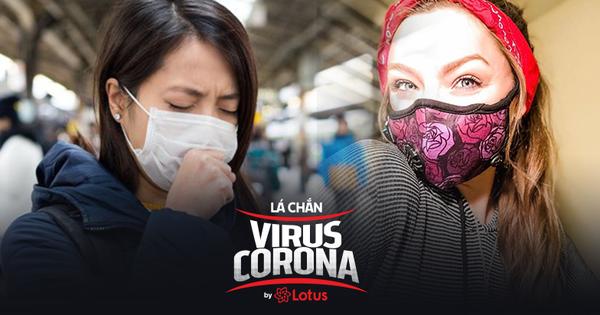 Không chỉ khẩu trang y tế, khẩu trang vải được vệ sinh đúng cách cũng ngăn ngừa được virus Corona