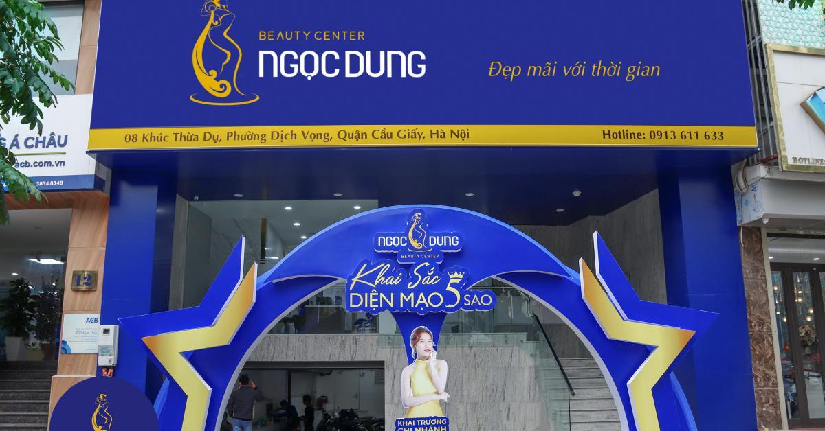 Thẩm mỹ viện Ngọc Dung chính thức ra mắt chi nhánh thứ 19 tại Hà Nội