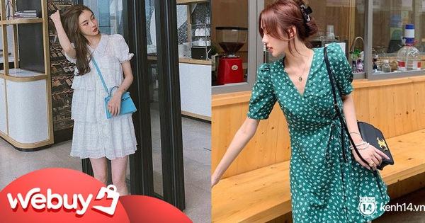 """9 mẫu váy liền giúp các nàng có style xịn sò hẳn lên, diện đi chơi """"sống ảo"""" không chê được điểm nào"""