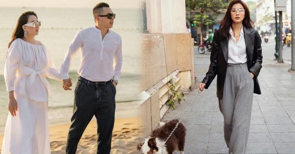 """Street style sao Việt: Phượng Chanel ton sur ton cùng """"bạn iu"""" Vũ Khắc Tiệp, Hà Tăng giản dị nhưng chất nhất tuần"""