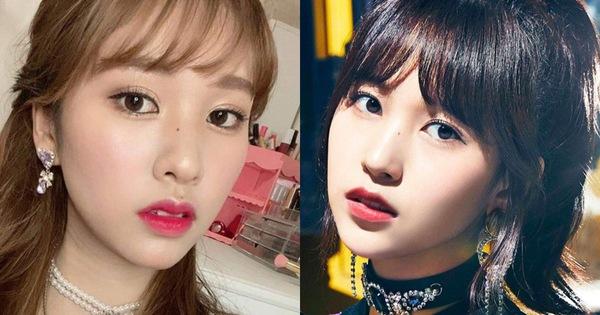 Cả thiên hạ ra đây mà xem, Mina (Twice) có chị em sinh đôi không cùng huyết thống chỉ nhờ thủ thuật makeup đây này