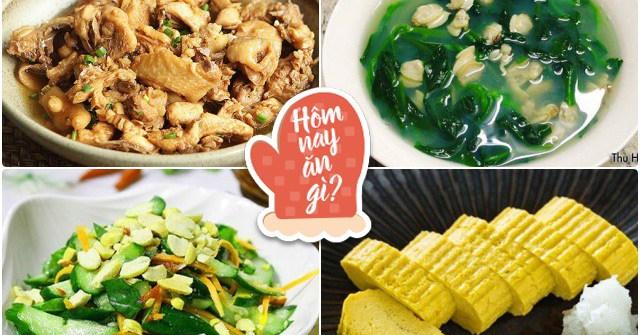 Hôm nay ăn gì: Nắng lên, nhìn bữa cơm này ai cũng thấy ngon, ăn không ngừng gắp