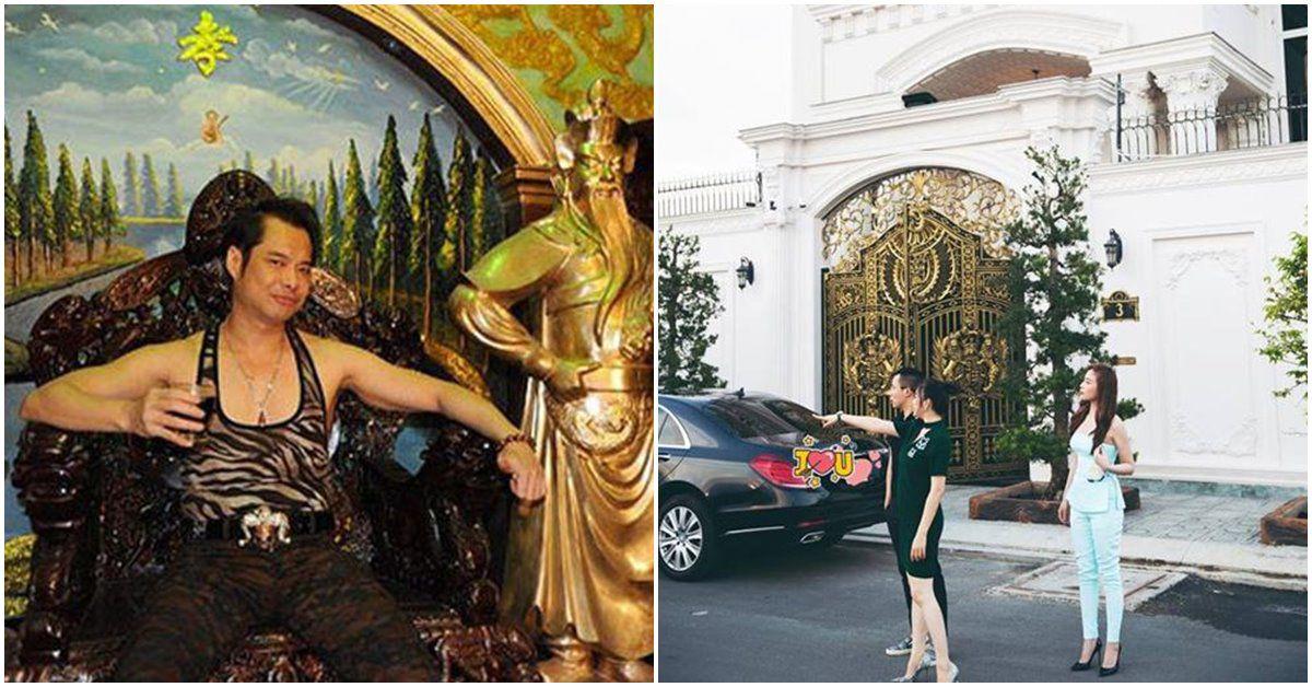 2 sao Việt ở biệt thự dát vàng: Người giàu lóa mắt, người nhìn vào lạnh sống lưng