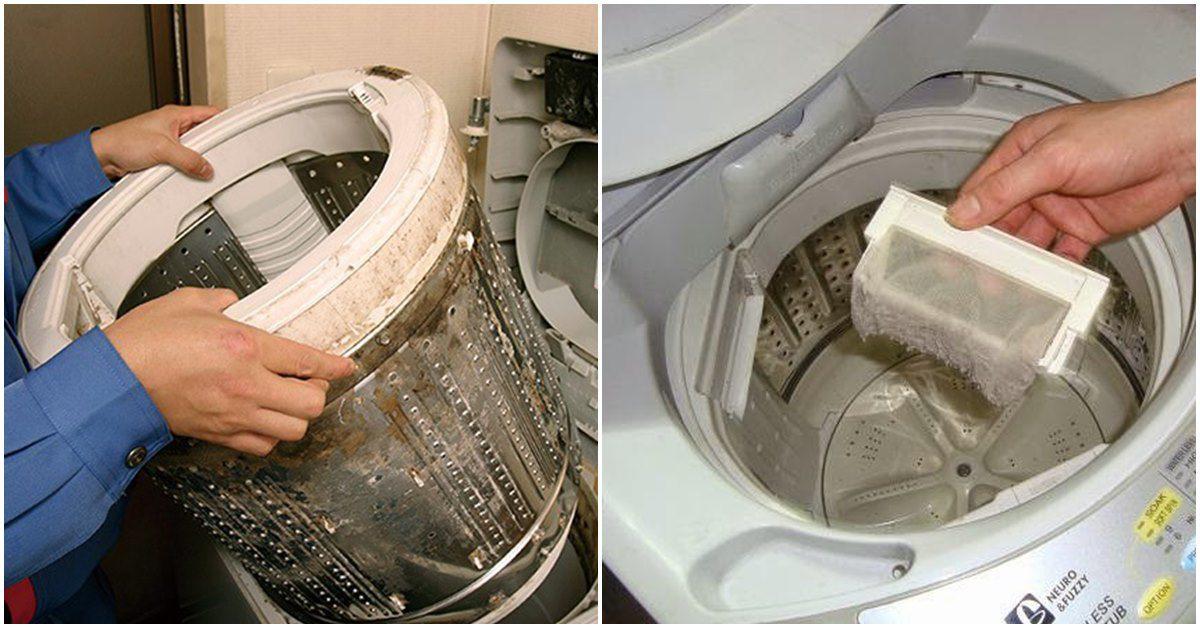 Dùng máy giặt mà không biết 2 mẹo làm sạch này, tốn tiền gọi thợ oan ức