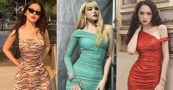 """Để chứng minh body chuẩn, dàn mỹ nhân Vbiz nô nức diện váy siêu ngắn siêu bó: Chẳng hở mà vẫn hot """"bức người"""""""