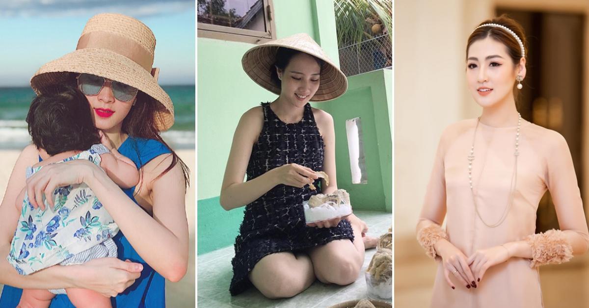 """Hội người đẹp HHVN 2012: Đều đã trở thành mẹ bỉm và đẹp """"bất phân thắng bại"""" sau sinh"""