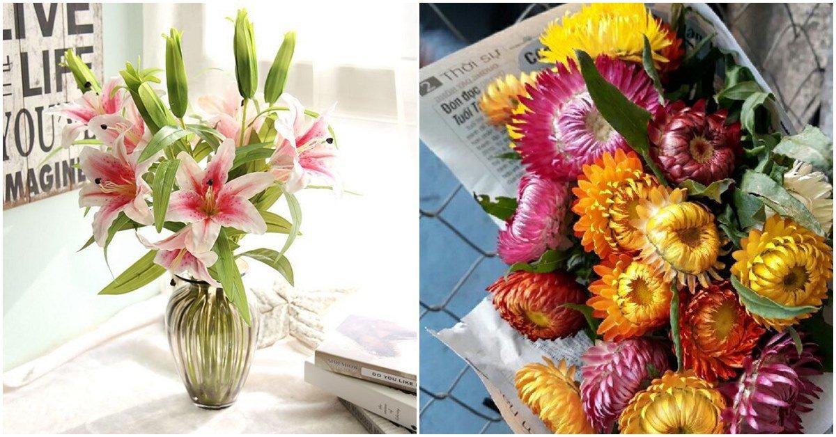 Những loại hoa cắm Tết bền 2 tuần, chơi chán chê vẫn chưa thối, chưa hỏng