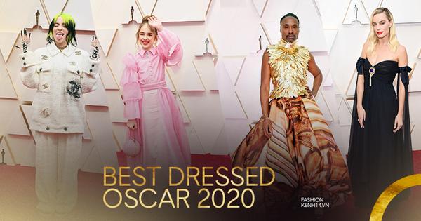 Top sao mặc đẹp nhất Oscar 2020: Từ nam nhân thích mặc váy đến Billie Eilish, duy có một nhân tố nhỏ tuổi lại gây bất ngờ