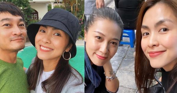 Bái phục làn da tuổi 33 của Hà Tăng: Căng mịn hồng hào không cần kem nền vẫn đẹp mĩ mãn