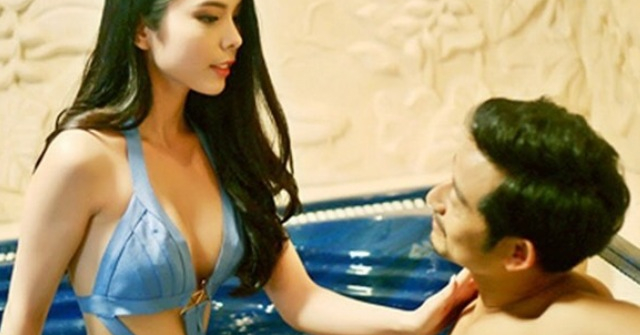 Hoa hậu Đồng Tháp chuyên trị đồ bơi cut out từ đời thực lên phim