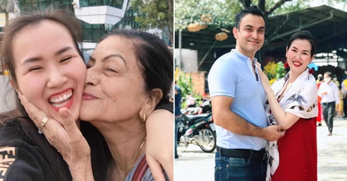 Mang bầu với chồng Ấn Độ, Võ Hạ Trâm ăn chay trường, chăm chỉ tập gym
