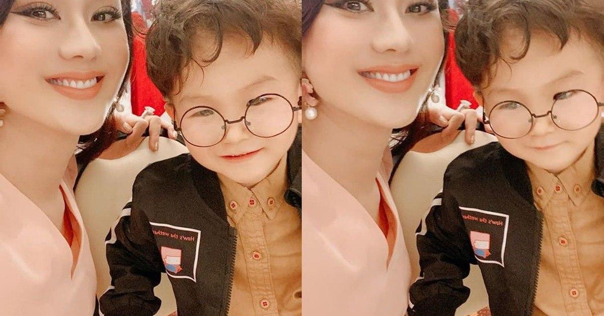 Chỉ đổi kiểu tóc, đứa trẻ sinh từ tinh trùng trước chuyển giới của Lâm Khánh Chi gây bão mạng