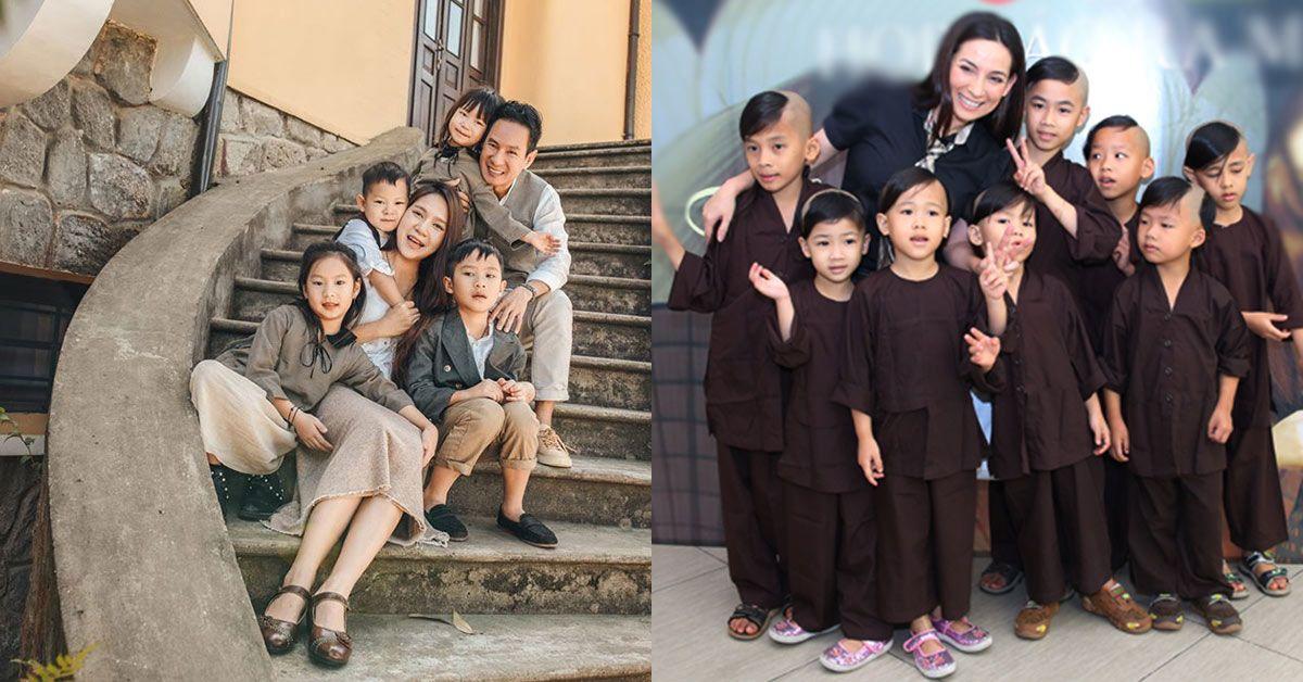 """Lắm tiền, nhiều đất, Phi Nhung không để tiền cho 23 đứa con nuôi, Lý Hải còn """"phũ"""" hơn"""