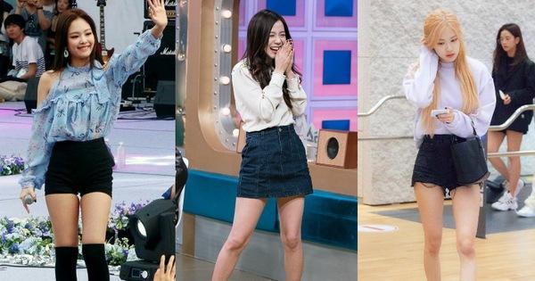 Không có cặp giò đẹp xuất sắc như Lisa nhưng bộ 3 Jisoo, Jennie và Rosé vẫn chinh phục đủ thể loại đồ ngắn cũn