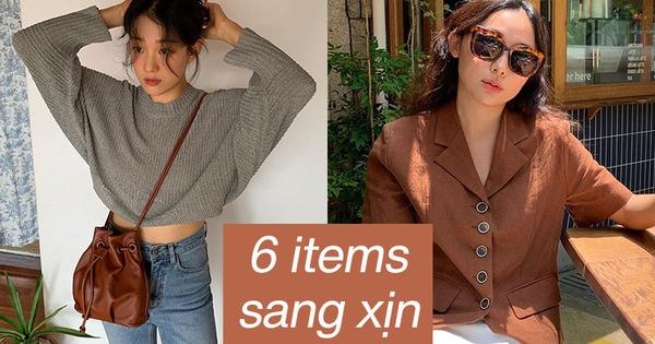 6 items khiến outfit của bạn sang xịn hơn tức thì, trong đó có 3 món màu nâu cực kỳ lợi hại