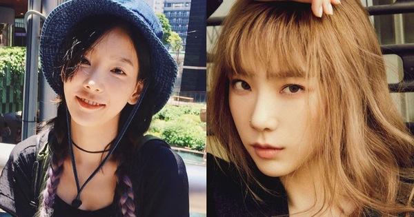 """6 màu nhuộm của Taeyeon từ khi debut: Tóc vàng """"cháy nắng"""" vậy mà xịn hơn hẳn tóc đen"""
