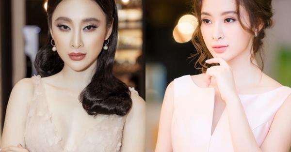 Kiểu trang điểm bị chê già nua để cố nổi bật của Angela Phương Trinh