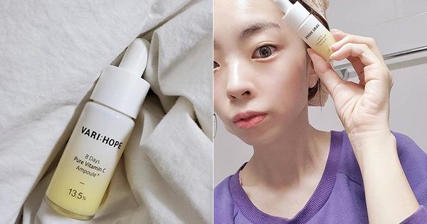 """Serum vitamin C """"lạ hoắc"""" của Hàn giúp làn da của cô bạn này lên tông, mờ thâm, lỗ chân lông nhỏ mịn thấy rõ chỉ sau 10 ngày"""