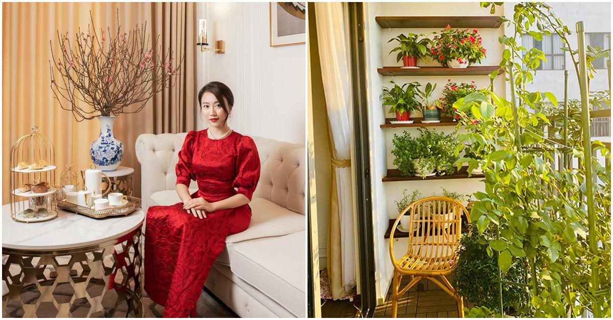 Chuyển lên ở nhà 5,5 tỷ đồng, Huỳnh Hồng Loan làm vườn 6m2, lấy nước vo gạo tưới cây
