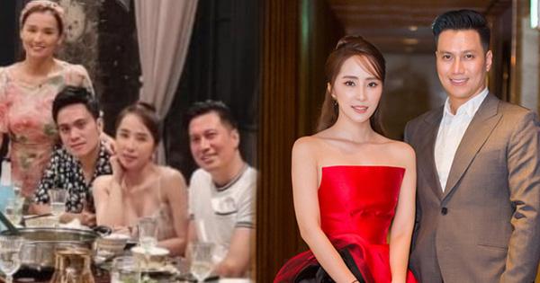 """Tiệc hội ngộ bạn thân, netizen chỉ chăm chăm """"soi"""" tình cảm của Quỳnh Nga và Việt Anh qua 1 chi tiết?"""