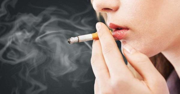 Bất ngờ với tỷ lệ nữ giới hút thuốc lá ở Việt Nam năm 2020