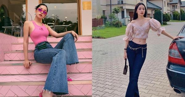 """Chẳng cao như người mẫu nhưng Chi Pu vẫn """"hack"""" được chân dài, dáng đẹp nhờ bí kíp diện quần ống loe tuyệt hay"""