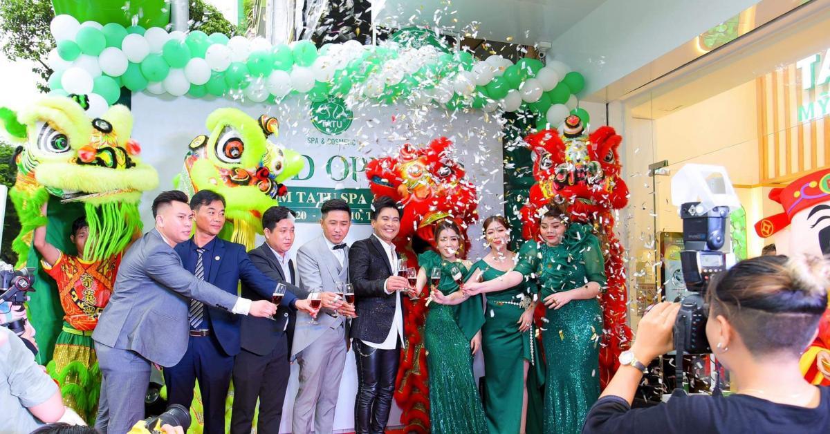 Tatu Group tiếp tục khai trương Tatu Spa & Cosmetic Quận 10 với dàn máy móc kỹ thuật hiện đại