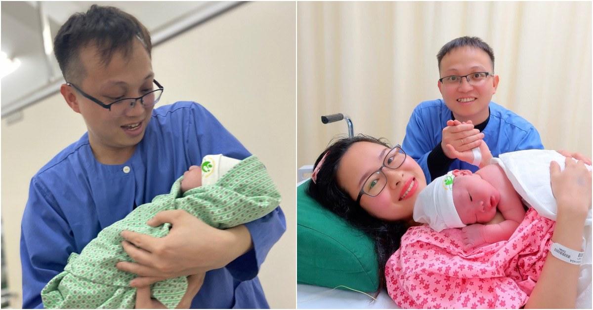 Mẹ HN mới đẻ 3 tháng thấy sữa ít dần, chồng rối bời đi mua liền 7 que thử thai