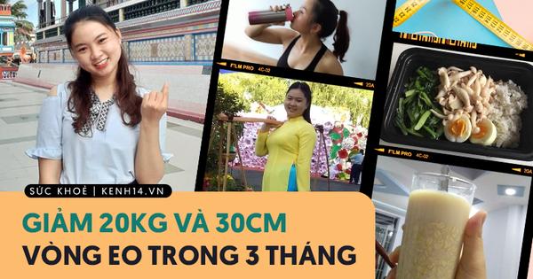 """Từng đạt ngưỡng 71kg cùng vòng eo """"quá khổ"""", cô sinh viên Sài Gòn giảm liền 20kg trong 3 tháng khiến ai nấy đều phải nể phục"""