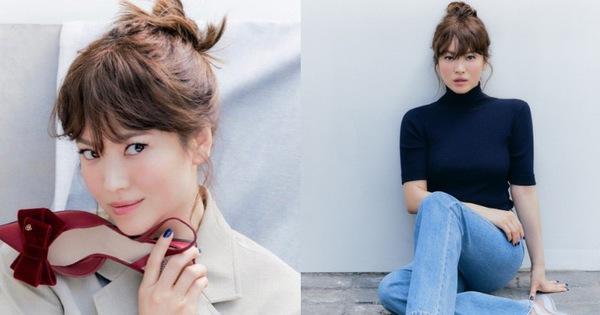 """Chưa bao giờ thấy Song Hye Kyo trẻ xinh """"hack tuổi"""" đến thế, đáng khen nhất là style không sến"""
