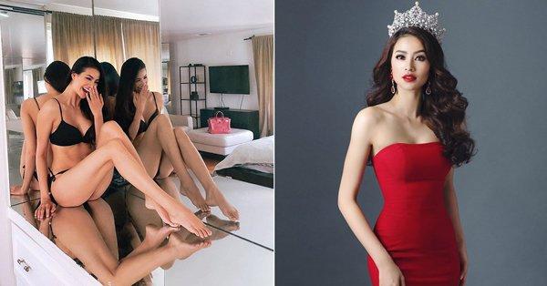 Phạm Hương tiết lộ cân nặng sau 1 năm sinh con, suýt soát khi đi thi Hoa hậu Hoàn vũ