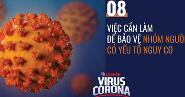 8 việc cần làm để bảo vệ người có yếu tố nguy cơ bệnh tình trở nặng nếu lây nhiễm COVID-19