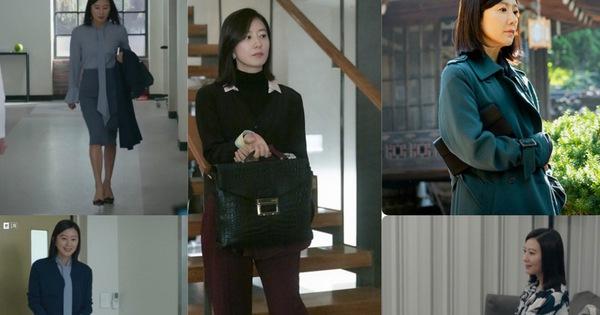"""BST túi của bà cả """"Thế Giới Hôn Nhân"""": Mỗi bộ chọn 1 túi khác nhau, xa xỉ nhất là túi Hermès gần 300 triệu"""