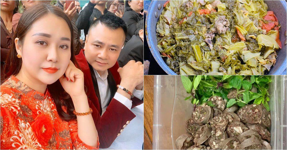 Vợ Tự Long nấu ăn như nhà có cỗ, hóa ra là phục vụ dàn Táo: Toàn món khoái khẩu!